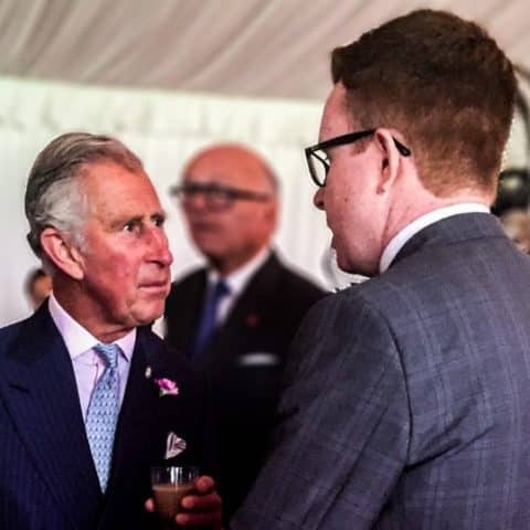 Darren Mac chats to Prince Charles about becoming a magician and the magic circle